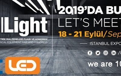 We will be in İstanbul Light 2019